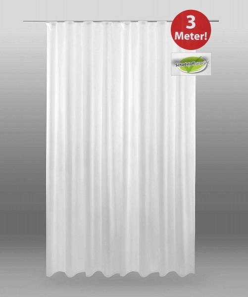 Dekoschal Fertiggardine Voile Weiß 300 x 245 cm