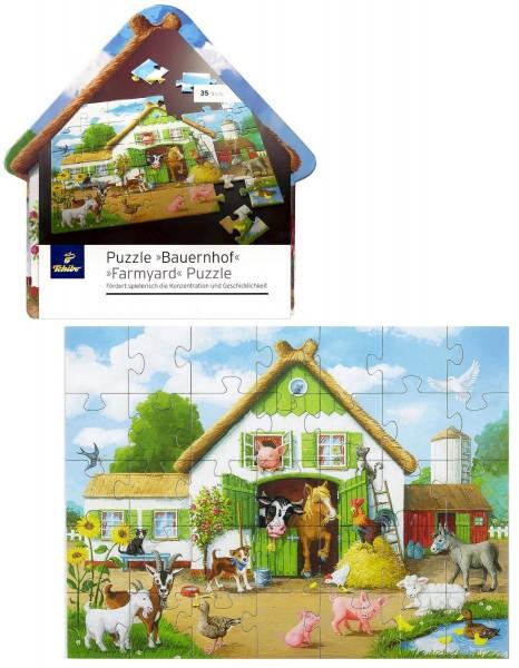 TCM Tchibo Kinder Puzzle Bauernhof