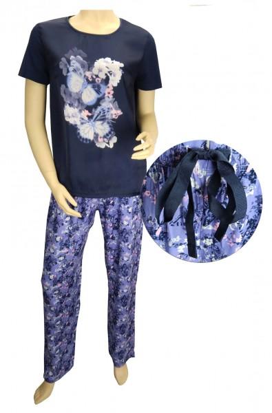 TCM Tchibo Damen Schlafanzug mit Fotoprint