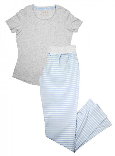 Damen Schlafanzug von TCM Tchibo