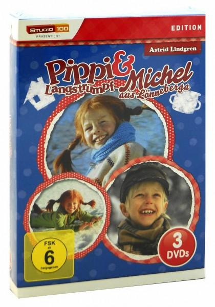 DVD Box Pippi Langstrumpf und Michel aus Lönneberga
