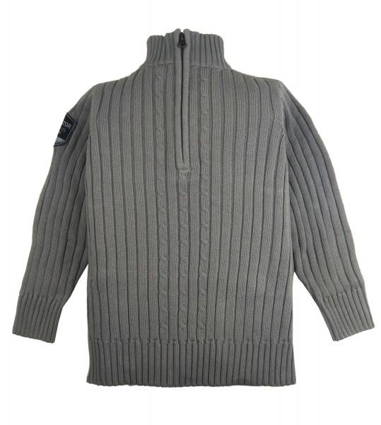TCM Tchibo Jungen Troyer Pullover Grau