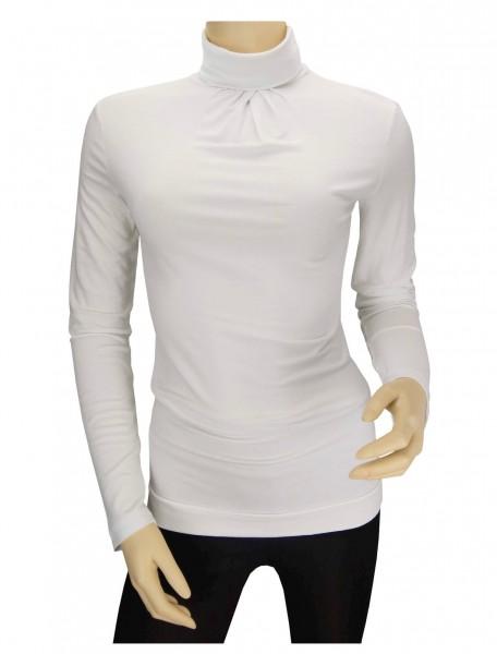 TCM Tchibo Damen Jersey Rolli Offwhite