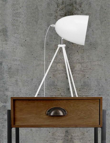 TCM Tchibo LED Tischleuchte Weiß