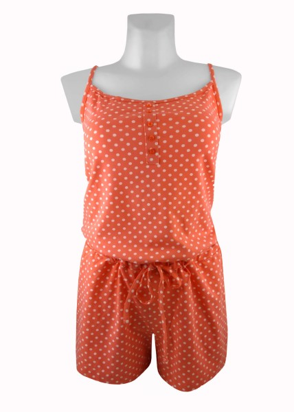TCM Tchibo Damen Schlafanzug Jumpsuit