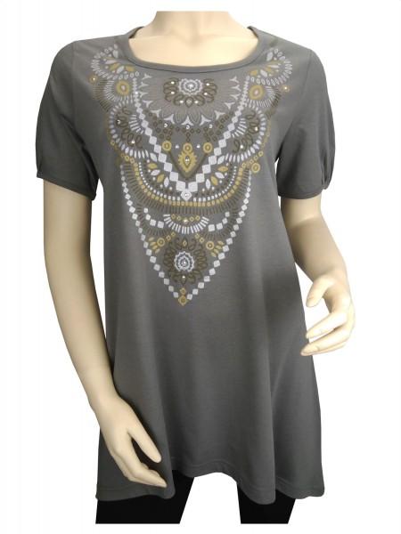 TCM Tchibo Damen Longshirt mit Print