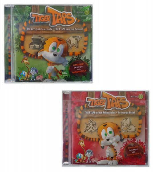 TCM Tchibo 2 CD Tiger Taps Hörspiel 1+2