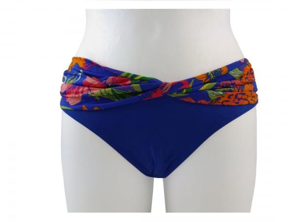 TCM Tchibo Damen Bikinislip Blau Alloverprint