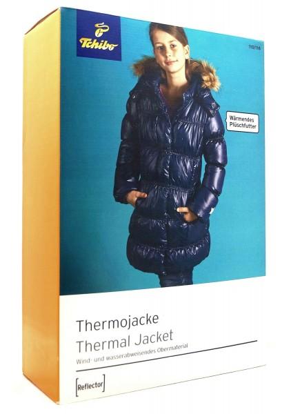 TCM Tchibo Mädchen Thermojacke mit Plüschfutter 110/116