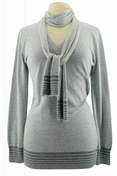 TCM Tchibo Damen Pullover mit Schal