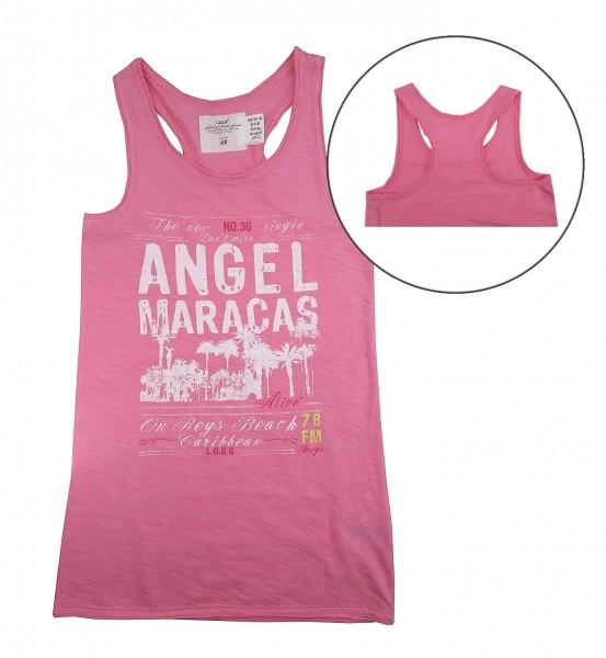 H&M Mädchen Tank Top Shirt Rosa 134/140