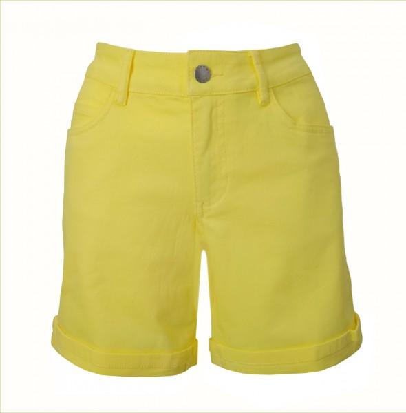 Tchibo TCM Damen Shorts Jeans Gelb