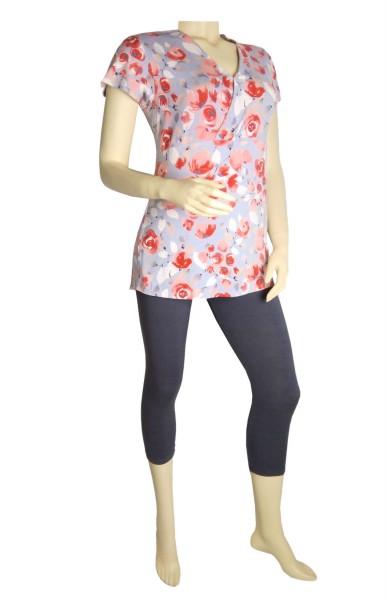 TCM Tchibo Damen Schlafanzug mit Leggings