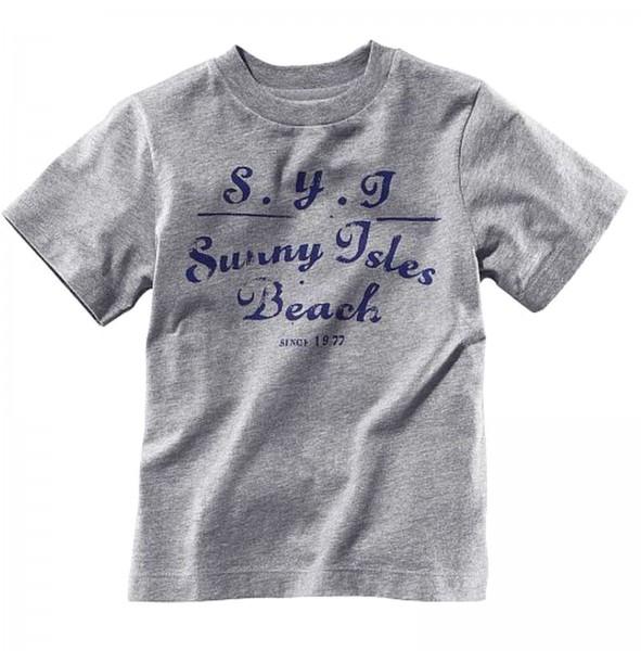 H&M Jungen T-Shirt Grau 134/140
