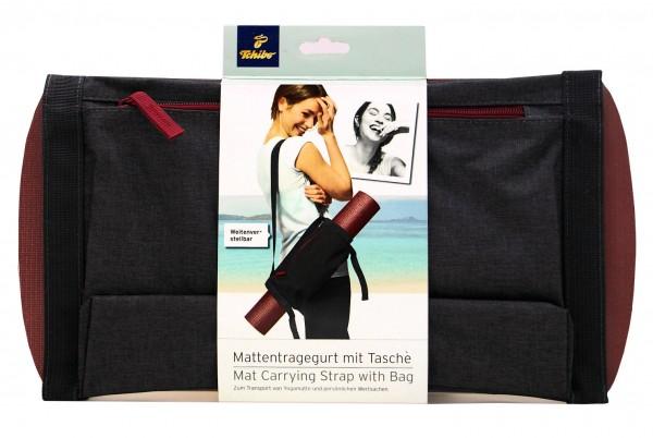 TCM Tchibo 2in1 Mattentragegurt mit Tasche