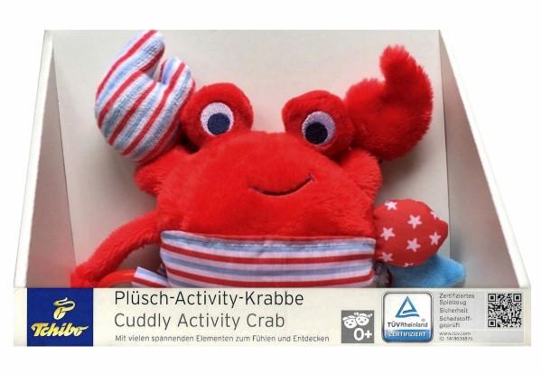 TCM Tchibo Baby Plüsch Activity Krabbe
