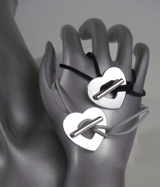 TCM Tchibo Damen Armband mit Silberherz