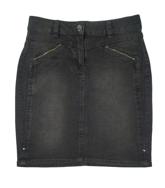 Damen Jeansrock Grau von Tchibo Tcm 36