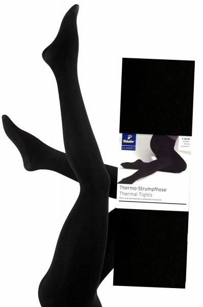 Damen Thermo Strumpfhose Schwarz von TCM Tchibo