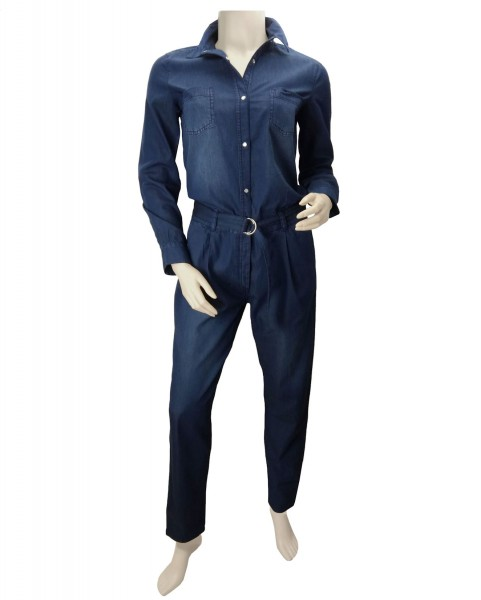 TCM Tchibo Damen Jumpsuit Denim