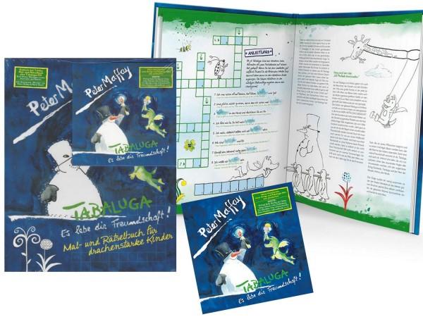 Tabaluga Es lebe die Freundschaft Peter Maffay Kinder CD mit Mal- und Rätselbuch