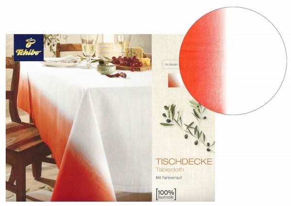 TCM Tchibo Tischdecke mit Farbverlauf